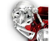 March Performance 8012006 Chrome Alternator Bracket Assembly