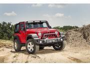 Rugged Ridge Overrider, Satin Black; 07-16 Jeep Wrangler Jk 11544.02