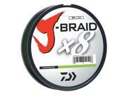 Daiwa J-Braid Chartreuse Fishing Line 330 Yards 20lb Test