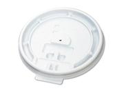 Boardwalk Hot Cup Tear-Tab Lids, 10-20Oz, White 9SIV00Y4VF9470