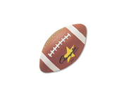 Champion Sports Rubber Sports Ball For Football Intermediate Size Brown