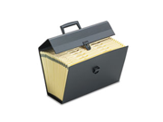 Portafile Letter/Legal Expanding Organizer 19 Pockets Black