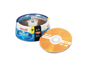 DVD-R Discs, 4.7GB, 16x, Spindle, Gold, 15/Pack