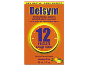 Adult Cough Suppressant, Orange, 3 oz Bottle