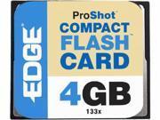EDGE Tech 4GB CompactFlash (CF) Card - 133x