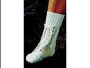 Lace-Up Canvas Ankle Splint Medium Sportaid