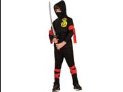 Child Black Ninja Costume Rubies 881900