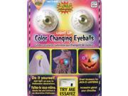 "1.5"" Flashing Color Changing Eye Balls Halloween Decoration Eyeballs"