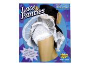 Adult Sexy White Lace Panties French Maid Dance Costume