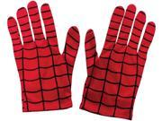 Adult's Marvel Comics Universe Spiderman Gloves Costume Accessory 9SIA1W26M53441