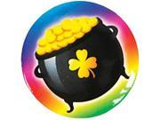 "St Patricks Day 1"""" Irish Rainbow Pot of Gold Button"" 9SIA1W20HS2220"