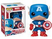 Pop! Marvel: Captain America Vinyl Figure Bobble Head