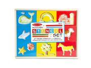Melissa & Doug Wooden Stencil Set