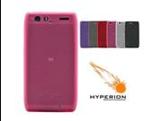 Hyperion Motorola DROID RAZR MAXX 4G Matte Pink TPU Case (Retail Packaging)