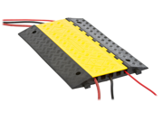 Modular 5-Channel Rubber Cable Cover Protector Ramp