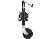 Heavy Duty Adjustable Swing-Up Swivel Wheel Trailer Tongue Jack