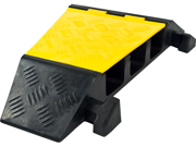 Modular 3 Channel Rubber Cable Ramp Right Turn Corner Section