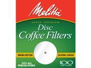 Melitta Filter Disc 100Ct 3001-5929