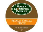 Green Mountain Coffee French Vanilla Decaf for Keurig Brewers (96 K-Cups) 9SIA69R43S9026