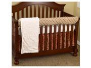 Cotton Tale Raspberry Dot 4 piece Crib Bedding Set