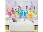 Disney Princess Royal Debut Prepasted Ultra-strippable Mural (6' x 10.5')
