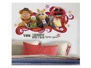 Jim Henson's Muppets Collage Peel & Stick Giant Wall Decal