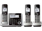 Panasonic KX-TGF373S DECT 6.0 3-Handset Landline Telephone