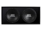 """MTX Audio RoadThunder Dual 12"""" Vented Enclosure"""