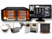 12 Channel 1080P High Definition HD-SDI Security Video Camera Surveillance Video Package HD-CCTV System