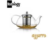 Teaology Azzurro Borosilicate Glass Teapot Kettle