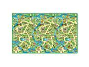 PlayScapes Portable Instant Children's Floor Play Mat - Zoo 9SIA1XR2RJ2769