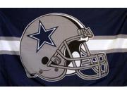DALLAS COWBOYS NFL HELMET 3X5 FLAG 9SIA1XV4S82402