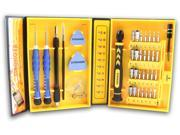 LB1 High Performance Precision Tool Kit for Electronics Cell Phone Repairs 38-Pieces