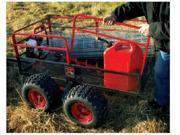 """Yutrax TX159 X4 Heavy Duty 60"""" x 31"""" x 21"""" Steel Mesh Utility Trailer"""