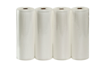 """Four VacMaster 11"""" X 50' Rolls of Bags for Foodsaver and other Vacuum Sealer Machines"""