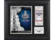 Los Angeles Kings Framed Program and Ticket Collage / Details: 2012 Stanley Cup Champions, Limited Edition of 500 9SIA1Z01FM9302