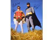 Adam West and Burt Ward Autographed 16x20 Photograph (3)