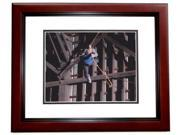 8 x 10 in. Andrew Garfield Autographed Spiderman Photo, Mahogany Custom Frame 9SIA00Y4510464