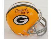 Paul Hornung Signed Green Bay Packers Throwback Riddell Mini Helmet w/HOF'86 9SIAC565069816