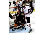 Andrew Shaw Signed Chicago Blackhawks 2015 Playoffs Head Butt Goal 8x10 Photo 9SIA1Z03G38928