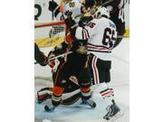Andrew Shaw Signed Chicago Blackhawks 2015 Playoffs Head Butt Goal 16x20 Photo 9SIAC565067828