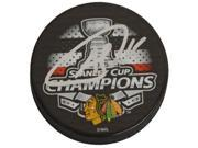 Andrew Shaw Signed Chicago Blackhawks 2015 Stanley Cup Champs Logo Hockey Puck 9SIA1Z03G38247