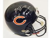 Brian Urlacher Signed Bears Riddell Full-Size Replica Helmet w/Monsters of the Midway