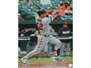 Schwartz Sports Memorabilia PAR16P101 16 x 20 in. Byung Ho Park Signed Minnesota Twins 1st MLB Base Hit Action Photo 9SIA1Z06JB5102