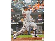 Byung Ho Park Signed Minnesota Twins 1st MLB Base Hit 16x20 Photo w/1st MLB Hit 4-4-16 9SIA1Z044C5352