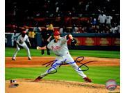 Roy Halladay Signed Philadelphia Phillies Perfect Game Action 8x10 Photo 9SIA1Z04FC7234