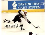 Mike Modano Signed Dallas Stars Slap Shot Action 8x10 Photo 9SIA1Z04FE3096