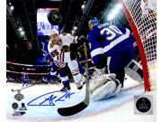 Andrew Shaw Signed Chicago Blackhawks 2015 Stanley Cup Finals Action 8x10 Photo 9SIA1Z04FE3087