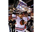 Kris Versteeg Signed Chicago Blackhawks 2010 Stanley Cup Trophy 8x10 Photo 9SIA1Z05XW7097