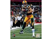 Jordy Nelson Signed Packers SB XLV TD Action 8x10 Photo 9SIA1Z05XW7093